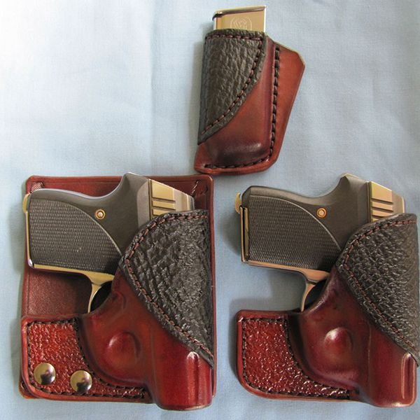 Bear Creek back pocket holster with Exotic Accents