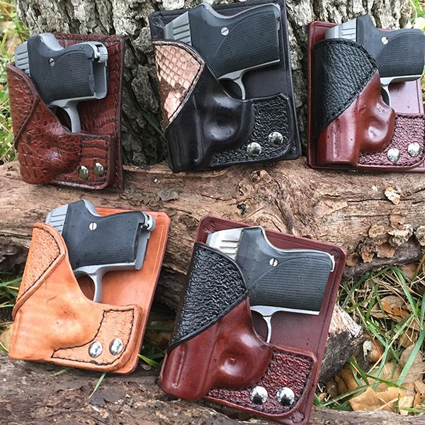 L. W. Seecamp guns shown in our back pocket holster