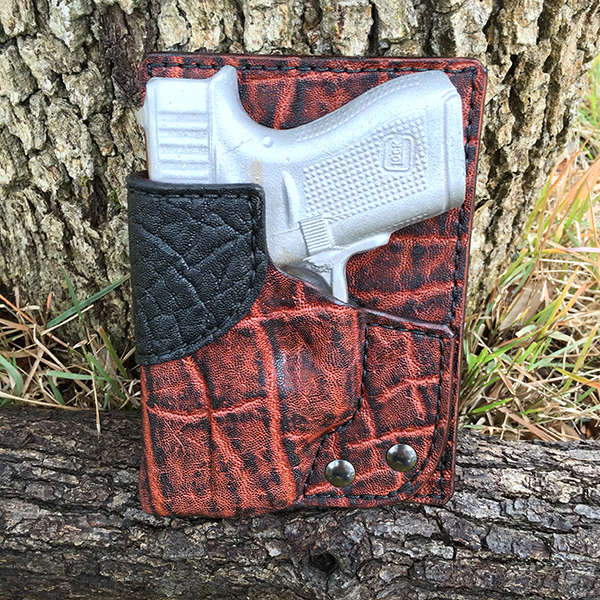 Glock 42 Back Pocket Holster in Elephant