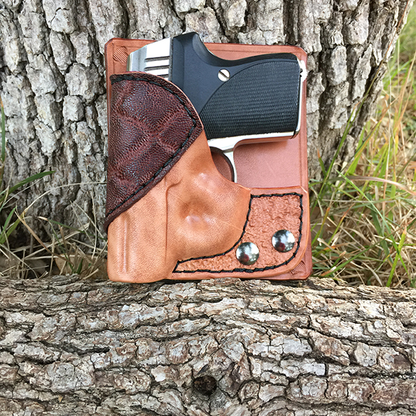 Seecamp Natural Horsehide with Brown Elephant Accent