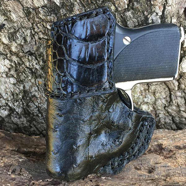 Inside Waist Band Holster (IWB) from Bear Creek Holsters with Exotic Accents