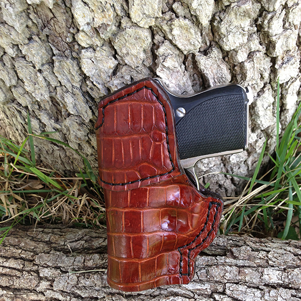 Seecamp, Cognac, Alligator - Inside Waist Band Holster (IWB)