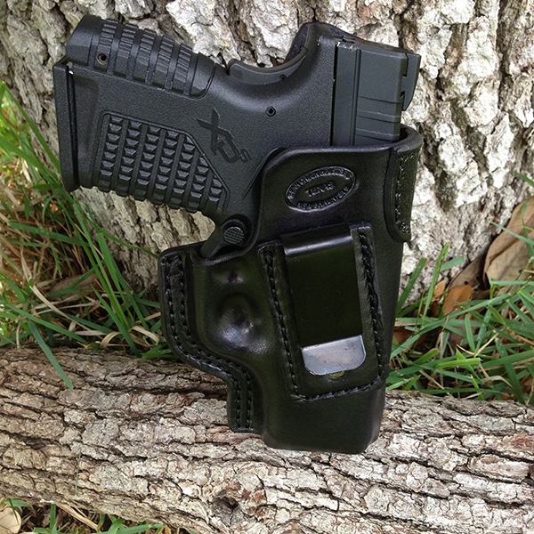 XDS, Black Cowhide, Inside Waist Band Holster (IWB)