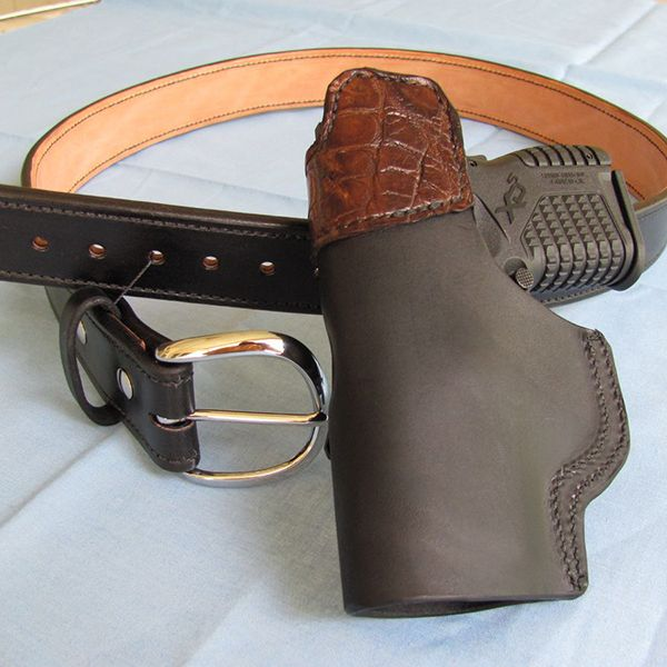 Bear Creek Holsters Double Leather Belts perfect for Holsters
