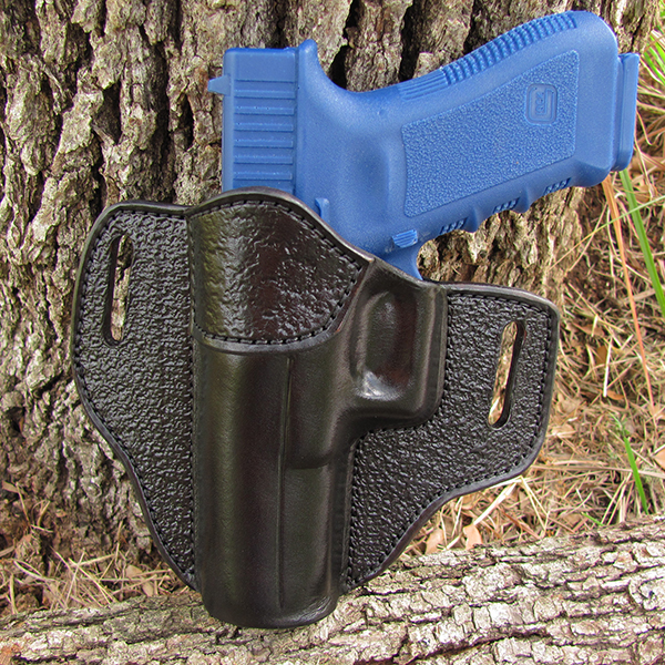 Black with Black Alligator Accent Outside Waist Band Holster (OWB)